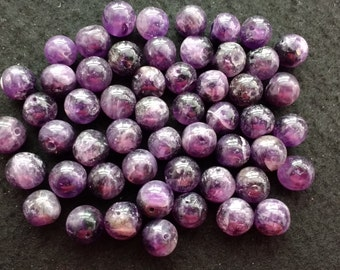 Vintage Amethyst 9mm Rounds