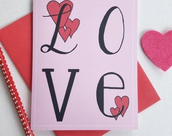 Love Card for Boyfriend, Anniversary Card for Husband, Anniversary Card Wife, Card for Groom, Love Card for Girlfriend, Love Card for Her
