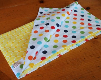 Rainbow Baby Blanket, Rainbow Baby Gift, Cotton Baby Swaddle, Personalized Baby Blanket, Cotton Flannel Swaddle,  Gender Neutral Baby