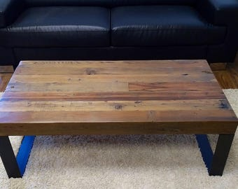 Reclaimed wood coffee table, Barnwood coffee table, Coffee Table, Barn Wood coffee table
