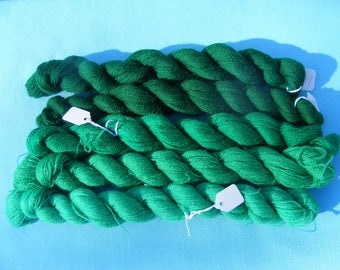 Appleton Crewel Wool Yarn - Shades of Green -180 yard each(5 hanks)