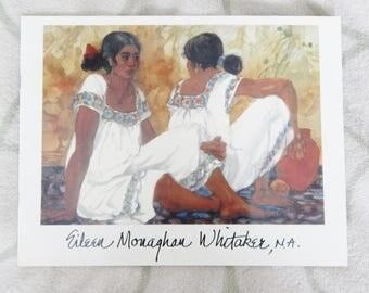 Eileen Monaghan Whitaker Artist Brochure