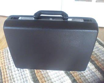 Brief Case, Laptop carrier, Hard side, Black, Samsonite, 18x14x5
