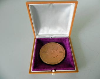 vintage 1980 Russian Olympic medal