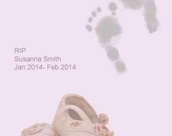 baby memorial, baby loss, infant loss, stillbirth memorial