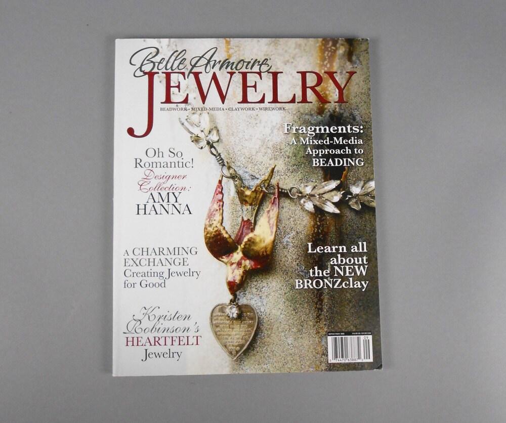 Belle armoire jewelry magazine autumn 2009 destash from for Belle armoire jewelry magazine subscription