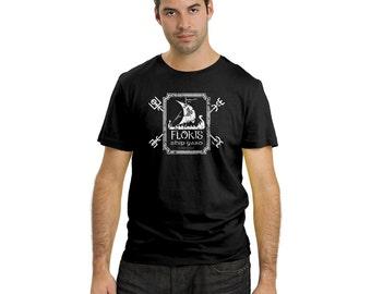 Flokis Ship Yard t shirt scandanavia shirt Vikings tee graphic floki the ship builder tshirt gift for vikings fan
