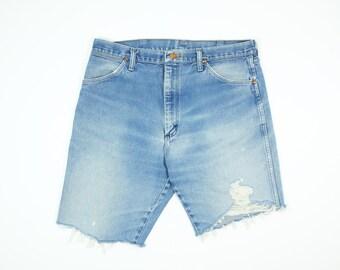 ripped jean shorts – Etsy