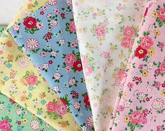 Atsuko Matsuyama 30's Collection Fat Quarter Pack -- Five pieces