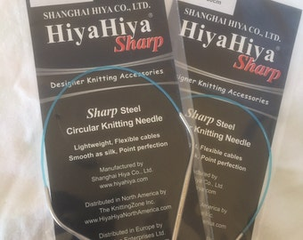 "HiyaHiya sharp 12"" 30cm circular needles 3.25mm"