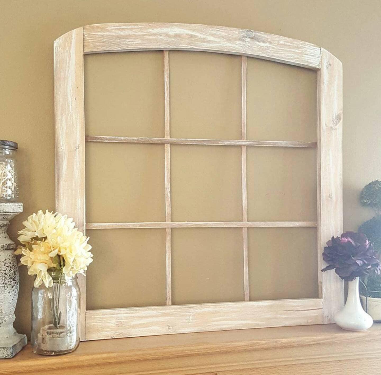 Arched Window Frame Window Frame Faux Window Frame