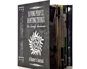 SUPERNATURAL Hunter's Journal Scrapbook