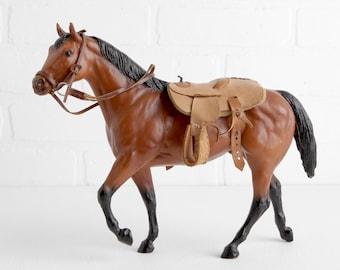 Vintage Breyer Leather Western Saddle and Bridle, Breyer Tack Sold with or without Breyer Model Horse