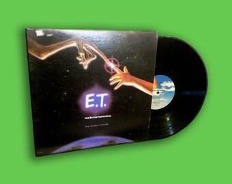 E.T. The Extra-Terrestrial Soundtrack on Vinyl Record, Vintage, Rare