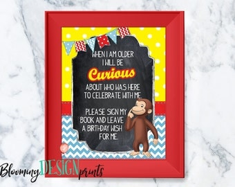 Curious george | Etsy