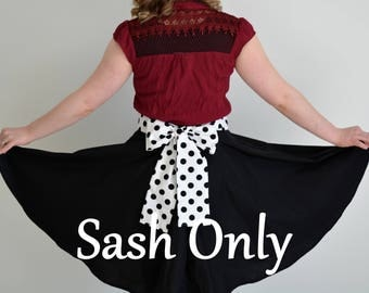 Sash Only, Please