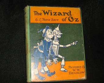 Wizard of Oz L Frank Baum 5th/2nd
