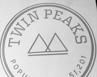 Twin Peaks Decal