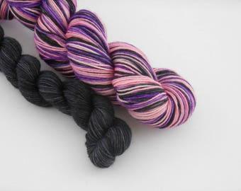 LOVE SOCK self-striping, 010, merino nylon sock yarn,100g