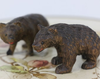 Black Forest Bear Cubs - Beautiful Antique item