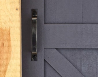 Door pull, barn door hardware