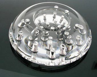 Prometheus Italy 2003 limited edition pur crystal  giove ashtray