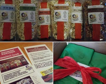 Gourmet Popcorn of the Month Club - Karen's Exceptional Small-Batch Recipe - Buttery, Crunchy & Delicious - Artisan Popcorn From Vermont