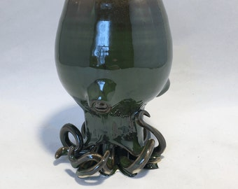 Gwynnog the Sea Monster/Octopus Wine Goblet