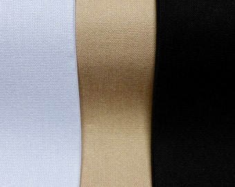 Wide Elastic Fabric, Belting, Corsetry. , 305mm wide, 3 colours