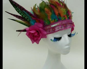 Flights of Fancey Feather Festival Headdress