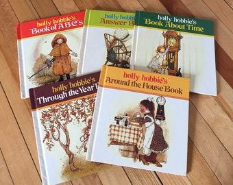 Vintage 1970s Holly Hobbie Children's Hardcover Books!