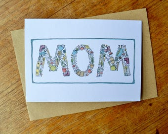 Happy Mothers Day Card - Green thumb mom