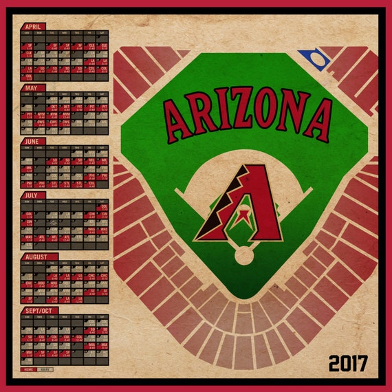 Sweet image for diamondbacks schedule printable