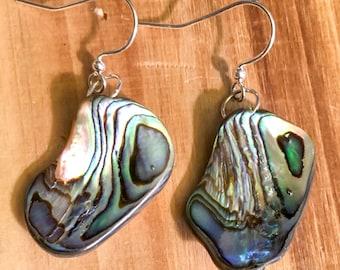 Abalone // Natural // Drop // Earrings
