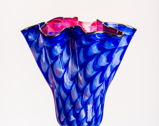 Double Optic Twist Vase