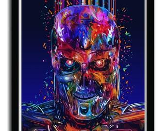 Affiche T800 par ALESSANDRO PAUTASSO