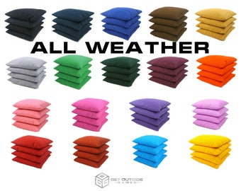8 Classic Series Cornhole Bags – All Weather