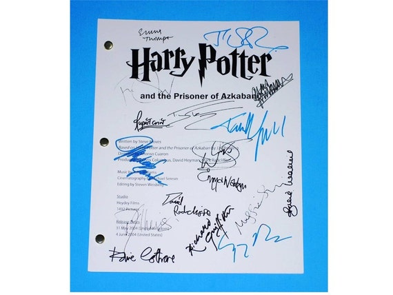 harry potter and the prisoner of azkaban script pdf