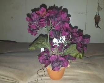 Peek A Boo Kitty Flower Pot