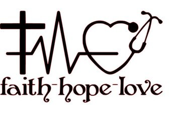 Faith - Hope - Love for Nurses SVG File