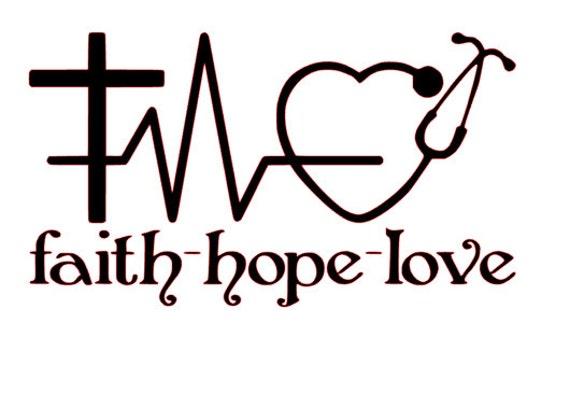 Faith hope love for nurses svg file from - Faith love hope pictures ...