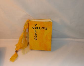 Handmade Journal -Yellow