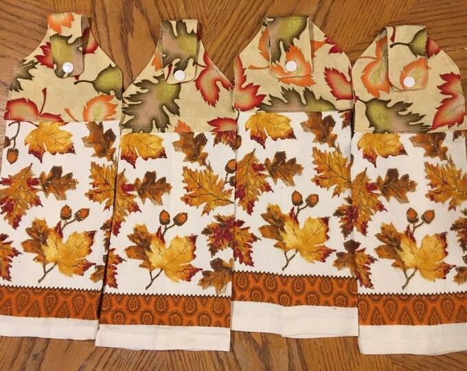Four terry kitchen towels