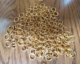 9mm Gold Plated Jumpring Lots (3013501-C)