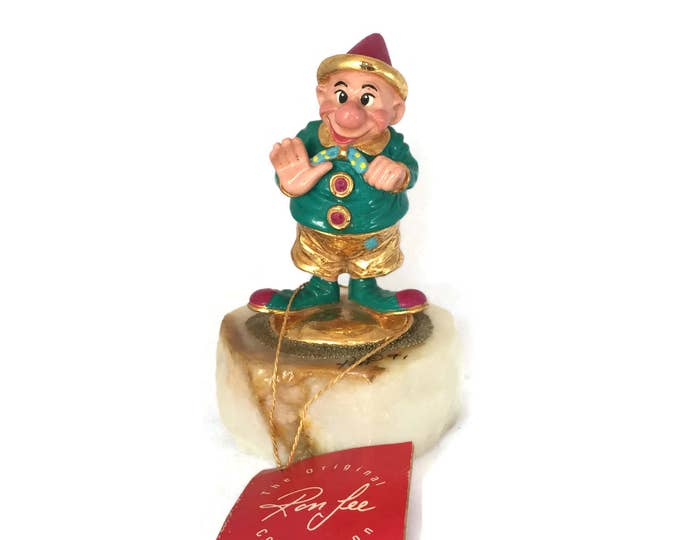 Retired Ron Lee Clown Hobo HI YA Clown Waving | Ronald A Lee Limited Edition Signed Collectible Clown Ron Lee Clown 1991 Clown Figurines