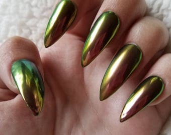 Duo Chrome - Press On Nails