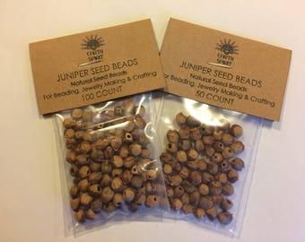 Navajo Ghost Beads, Ghost Beads, Juniper Beads, Cedar Beads, Juniper Seeds, Cedar Seeds, Seed Beads, Native American Beads, Natural