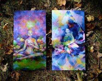 "Two Art Prints ~ ""Nurturing"" and ""Harmony"""