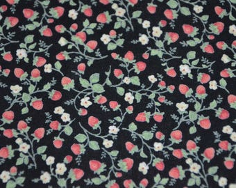 Japanese Lecien Cotton Fabric, Flower Bouquet Collection - one yard