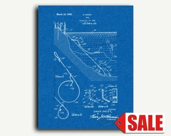 Patent Art - Trap Patent Wall Art Print